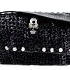 black skull bag