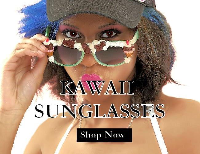 Alternative fashion - kawaii sunglasses