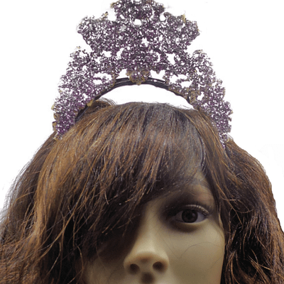 pink crown front