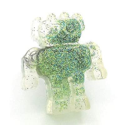 robot ring green dirty celebrity