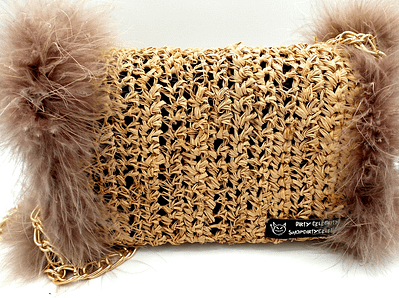 feather bag back