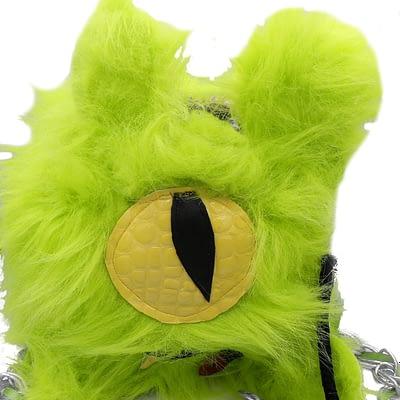 Lime green monster