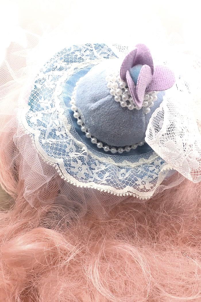 bon bon blue headband