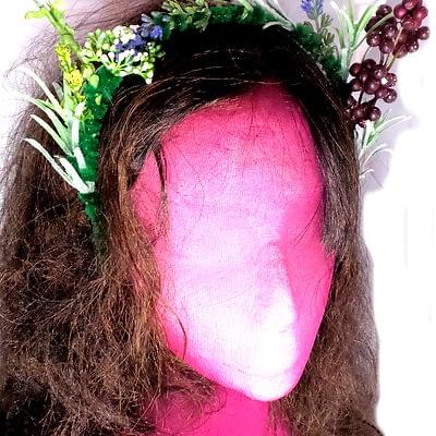 Berries headband side