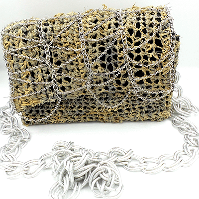 chained crossbody