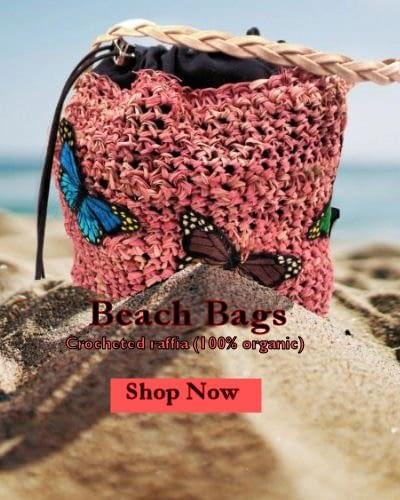 Alternative fashion beach bags for the goth, cottagecore, kawaii