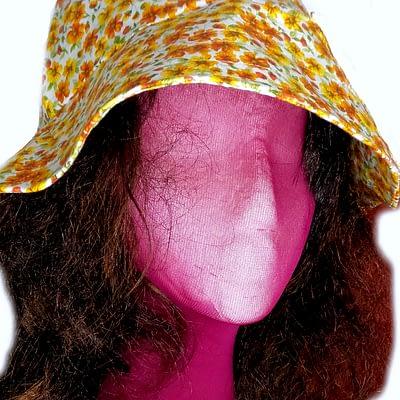 Cottagecore sun hat
