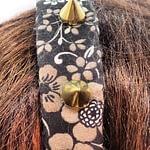 dark cottagecore headpiece