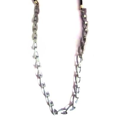bike chain stand alone necklace