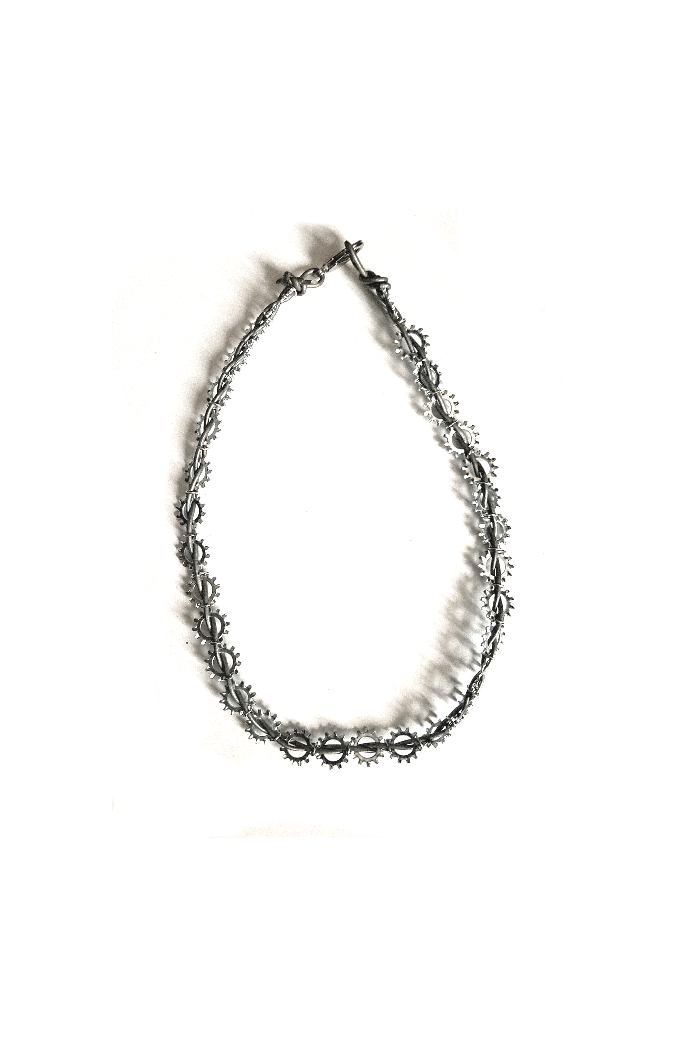 nuts about bolts men necklace