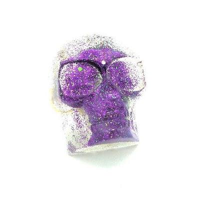 dark purple skull ring dirty celebrity