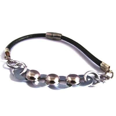 ball and chain men bracelet 1