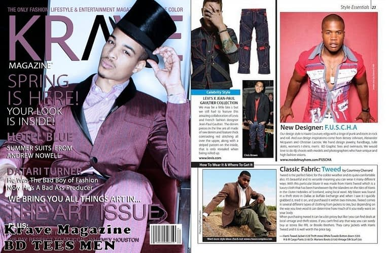 Krave magazine Tearsheet