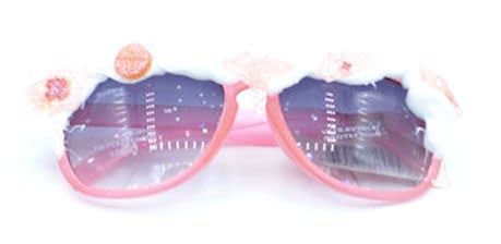 frosted pink sunnies with frosting detail