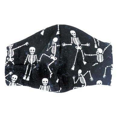dancing skull mask