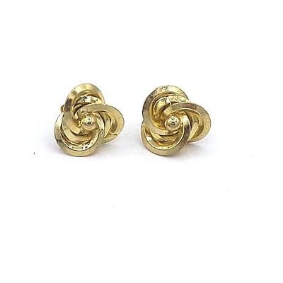 twisted earrings